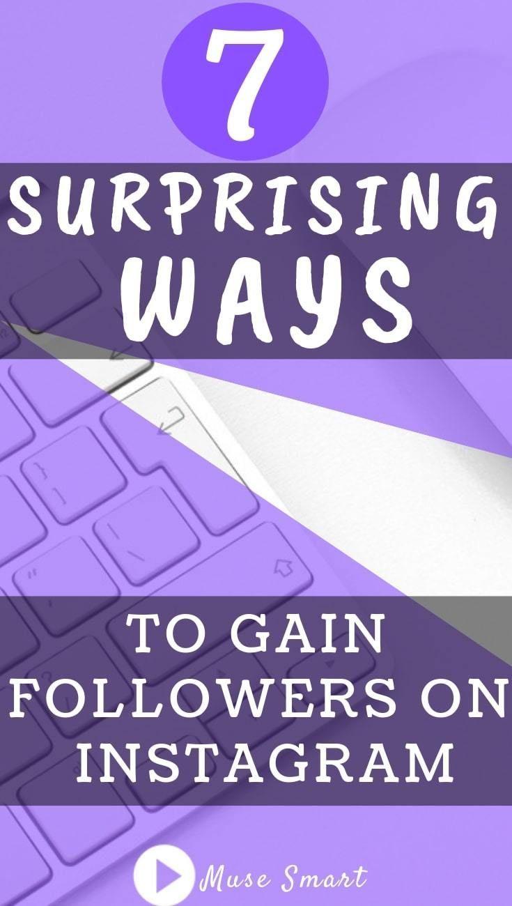 7 suprising ways to gain followers on instagram get