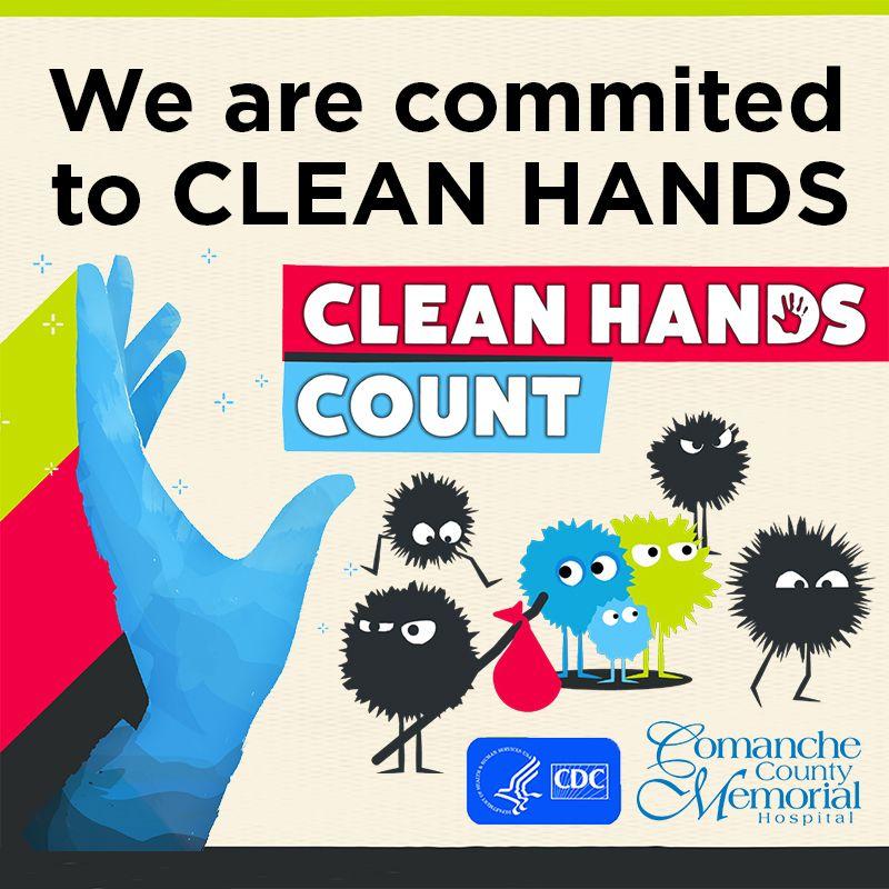 It's National HandWashing Week! CleanHandsCount At