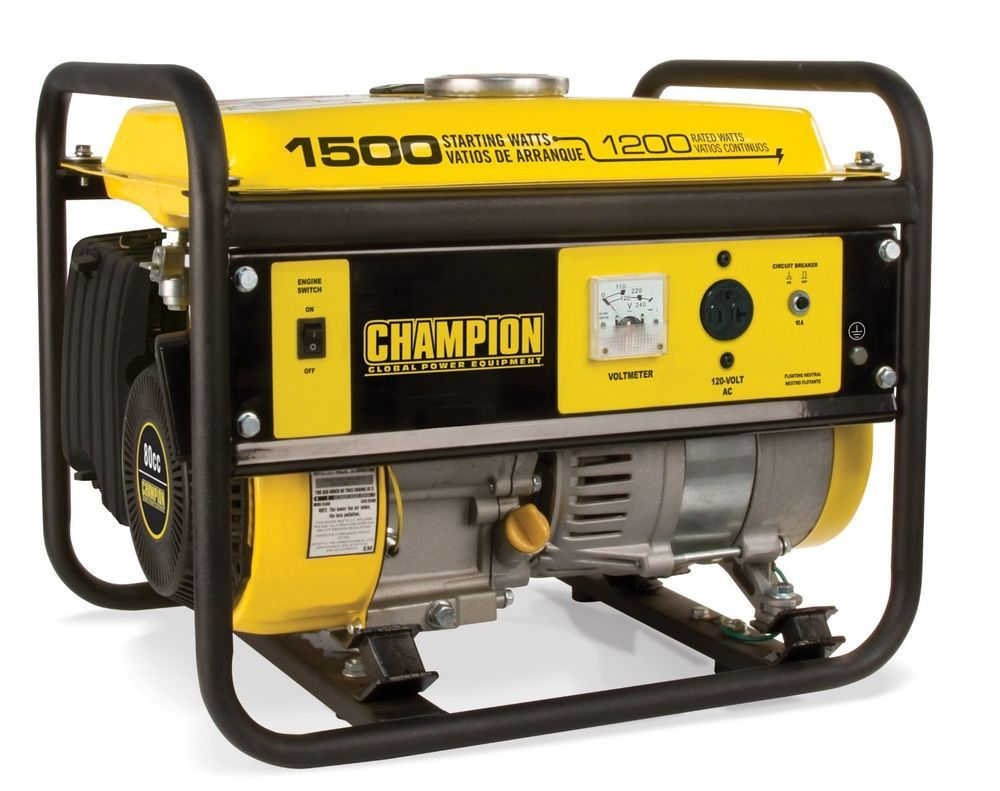 Champion power equipment watt portable generator carb