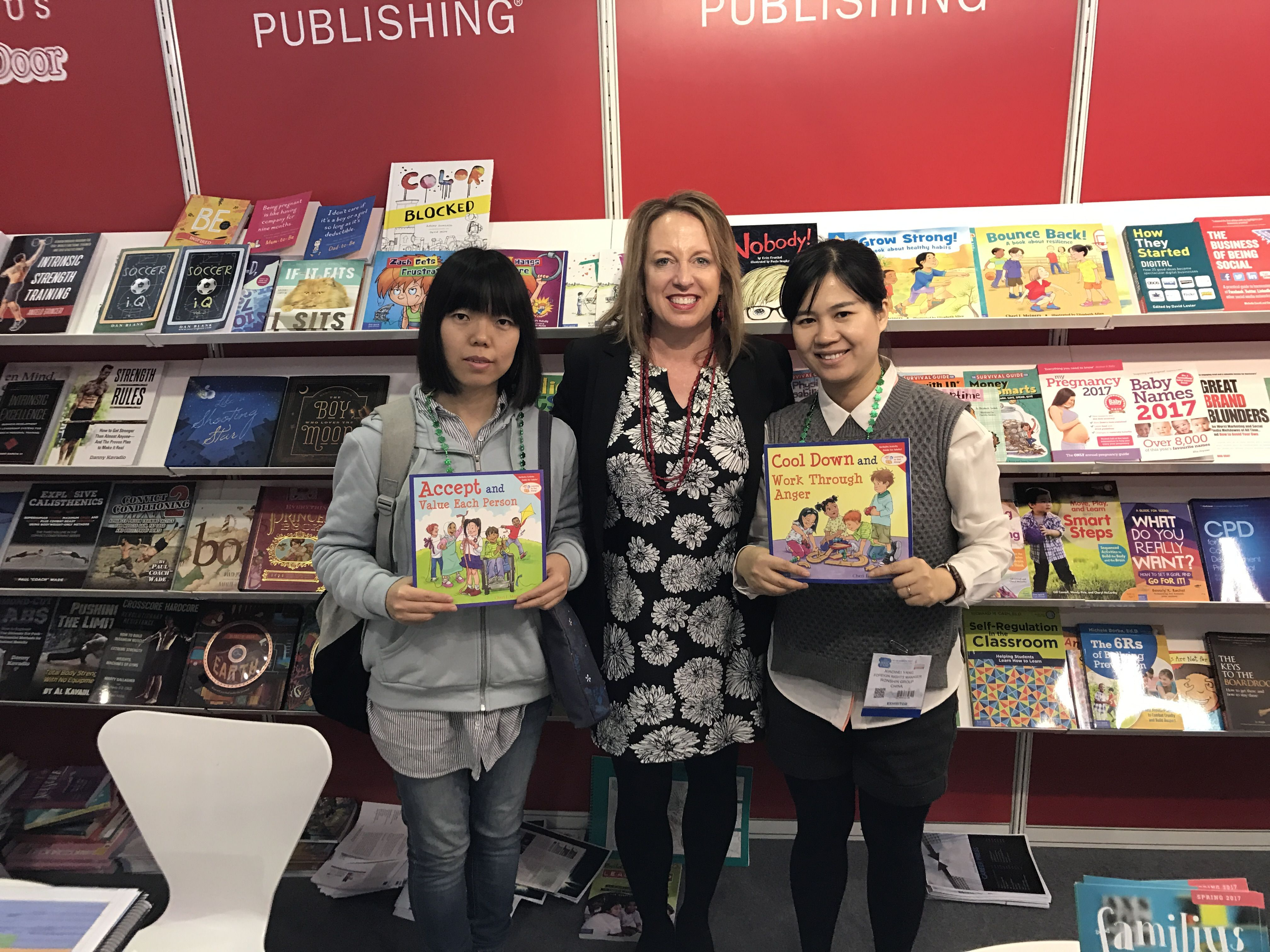 Free Spirit Allison Olson Met With Our Chinese Publishers At The