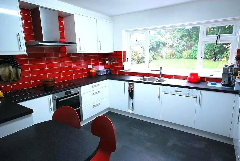 30 Beautiful Red Kitchen Accessories Ideas Black And Red Kitchen