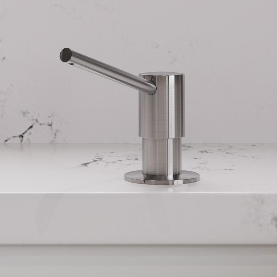 ALFI brand Brushed Stainless Steel Soap and Lotion Dispenser   AB5006-BSS