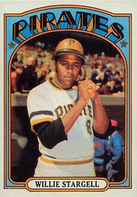 1972 Topps Willie Stargell 447 Baseball Card Value Price Guide Baseball Cards Baseball Baseball Cards Worth