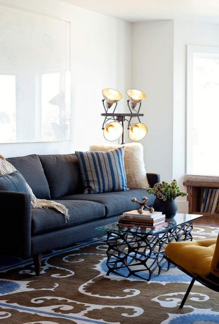Industrial Style Wohnzimmer: Ideen Für Möbel Und Dekoration #dekoration  #ideen #industrial #