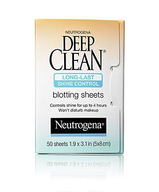 Deep Clean Long-Last Shine Control Blotting Sheets   Shine control  products, Beauty products drugstore, Neutrogena