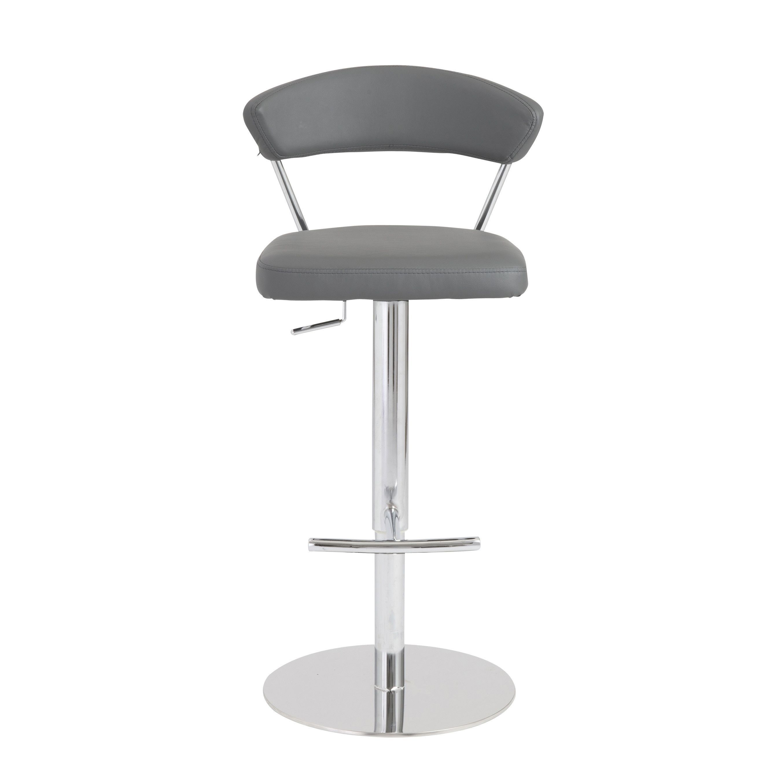 Best Of Chrome and Wood Bar Stools