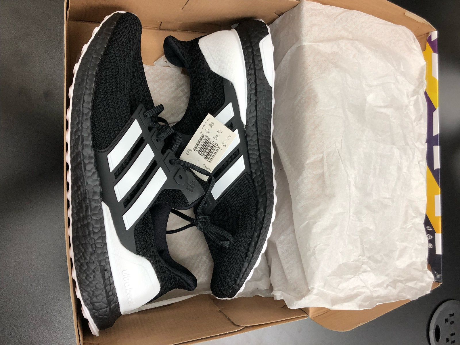 d9de5a5c474651 Adidas Ultra Boost Orca Black White Ultraboost Gym Men Shoes G28965 Lightly  Used