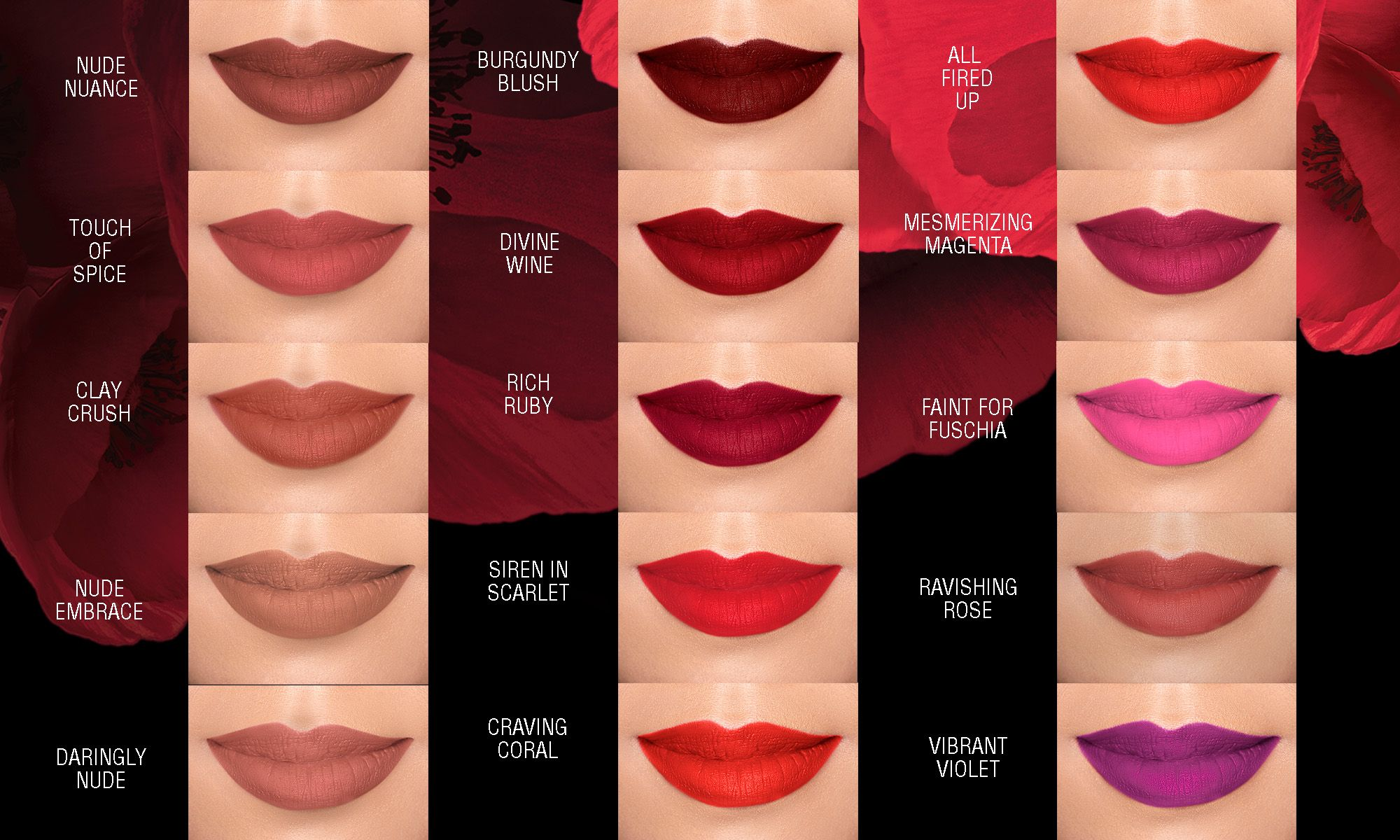 maybelline color sensational matte lipsticks swatches
