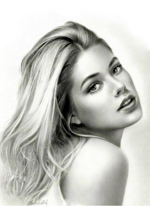 beautiful portrait !! #woman #amazing #art #pencilArt ...
