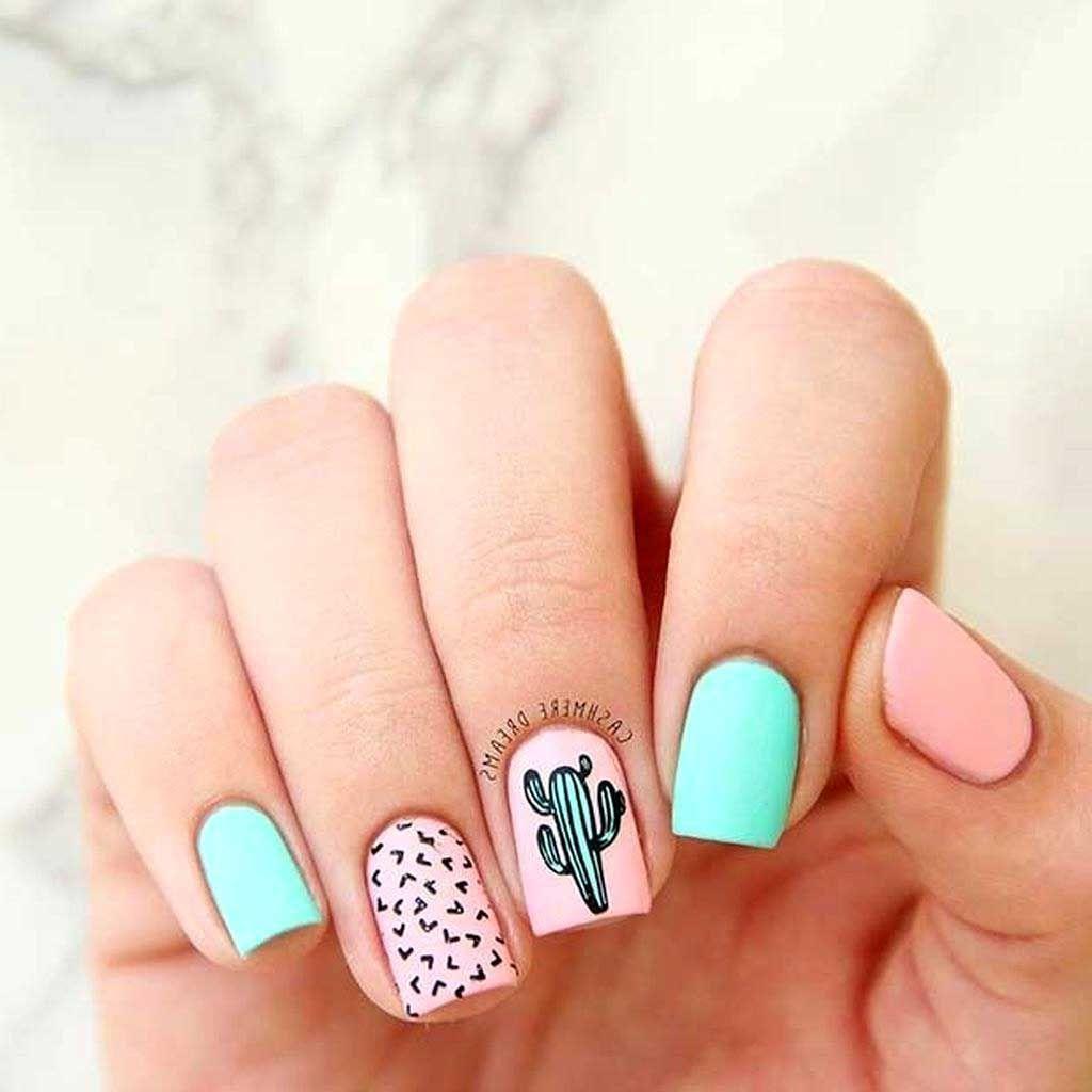 42 Popular Nail Art Designs Ideas For Summer 202028 Best Home Design Ideas Summer Time Nails Cute Nails Short Acrylic Nails Designs