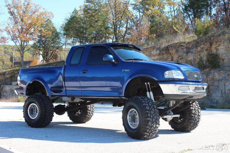 1997 ford f-150 xlt 5.4l v8 custom 4wd pickup | dream on | pinterest