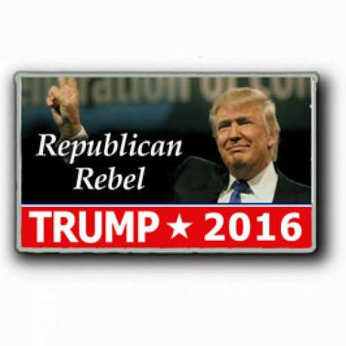 Lapel Pin - Donald Trump for President 2016