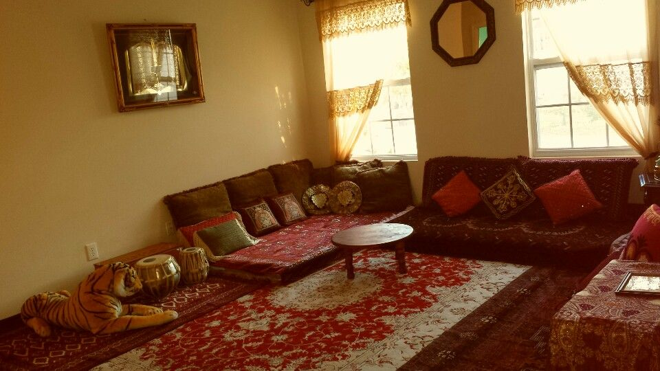 Afghan Sitting Room Afghan Style Home Decor Living