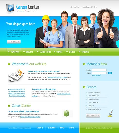 Business center web template clean corporate beautifull business center web template clean corporate wajeb Gallery