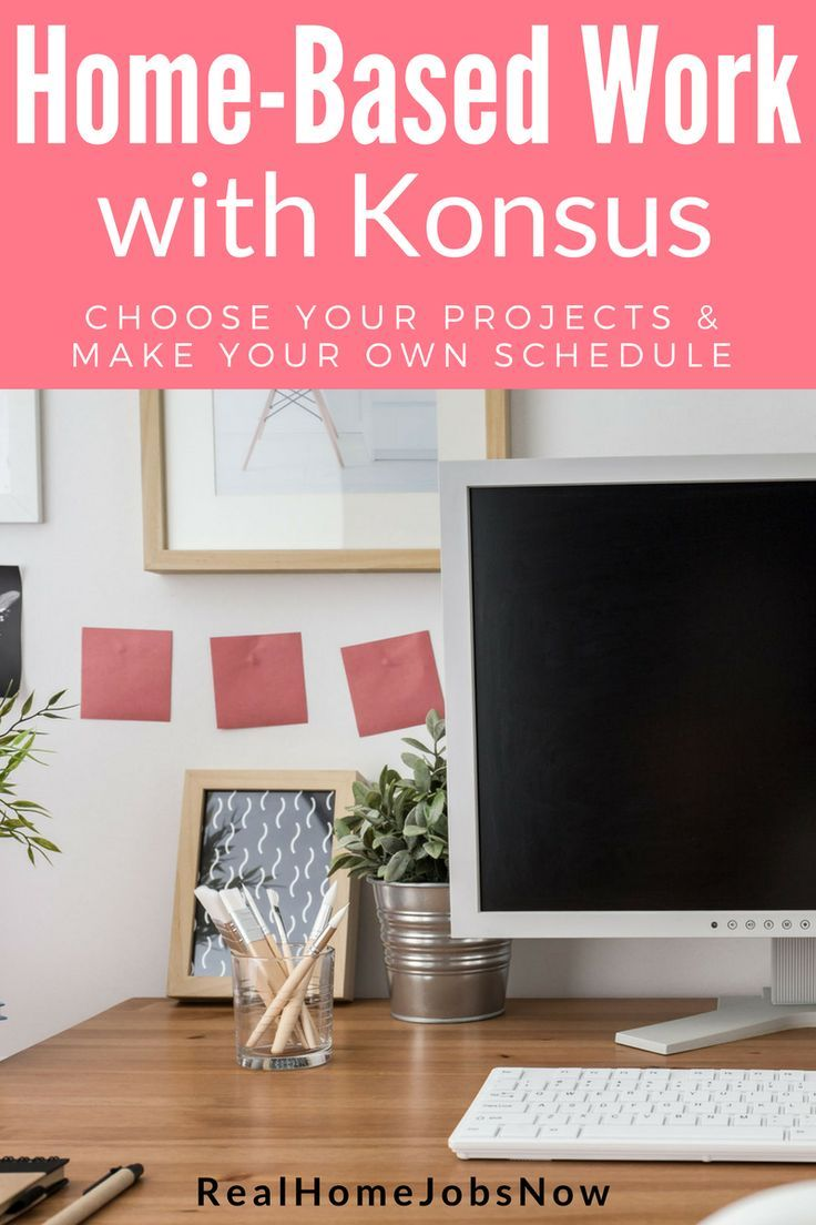 Konsus HomeBased Flexible Job Opportunities Available Now