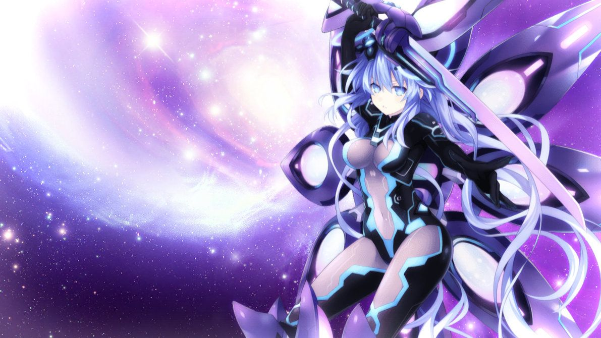 Megadimension Neptunia Vii Purple Heart Wallpaper By Jessymoonn On