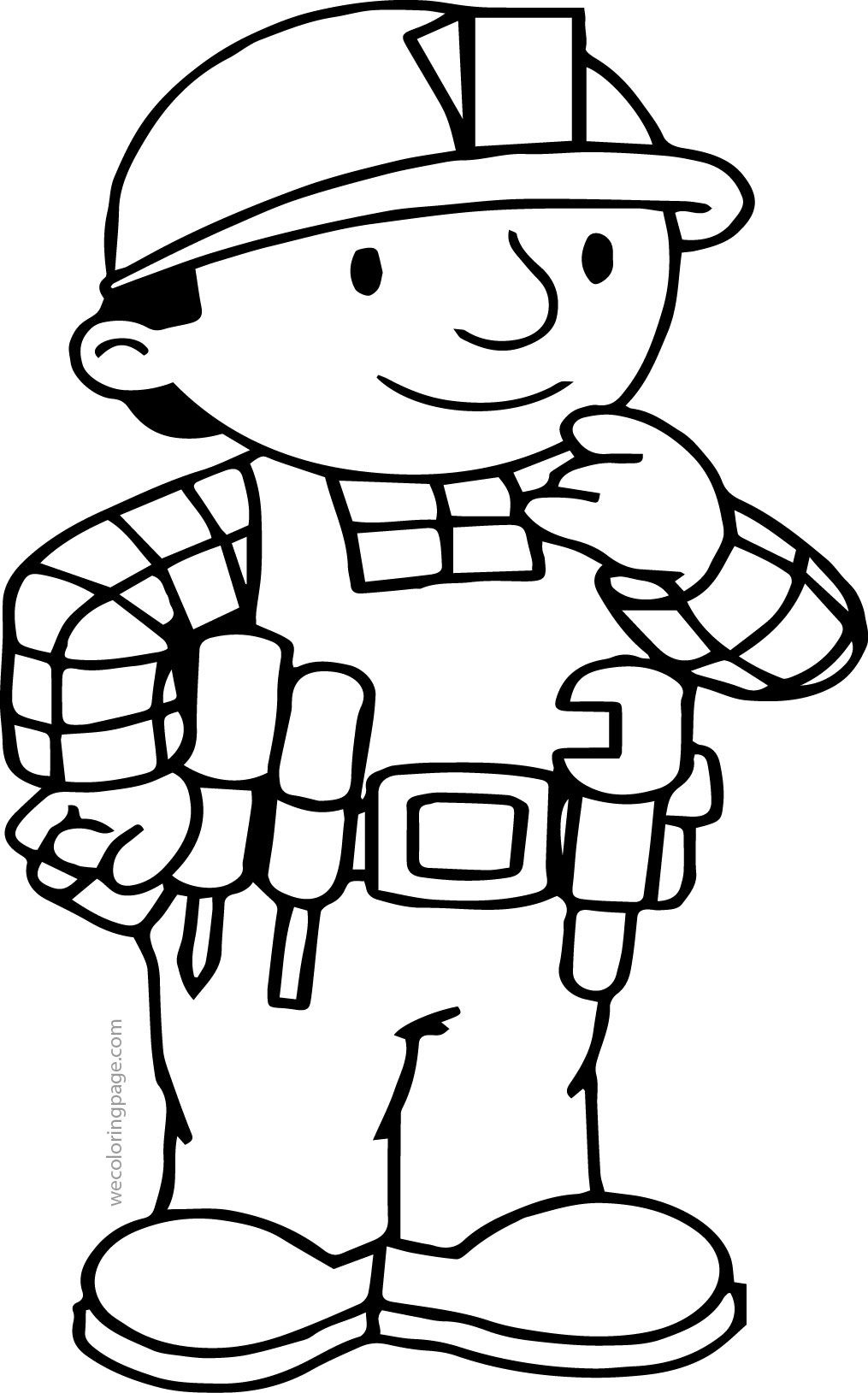 Nice Bob The Builder Think Coloring Page Teddy Bear Coloring Pages Bear Coloring Pages Coloring Pages [ 1629 x 1015 Pixel ]