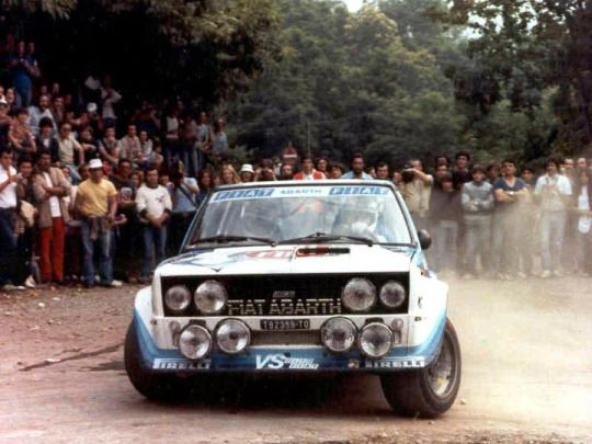 Fiat 131 Abarth Rally Car Rally Car Fiat Rally Racing