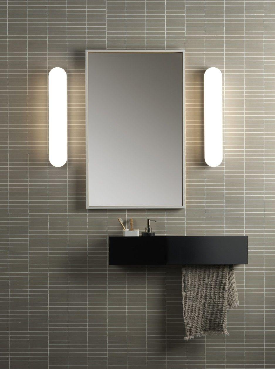Clio Bath Led Direct Light Wall Lamp For Bathroom Altea Wall
