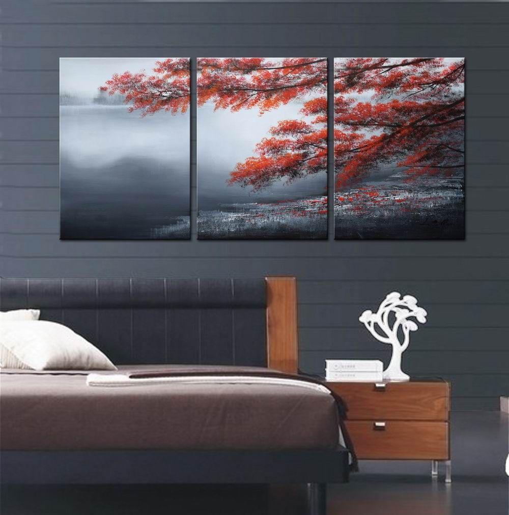New 3 Piece Modern Wall Art