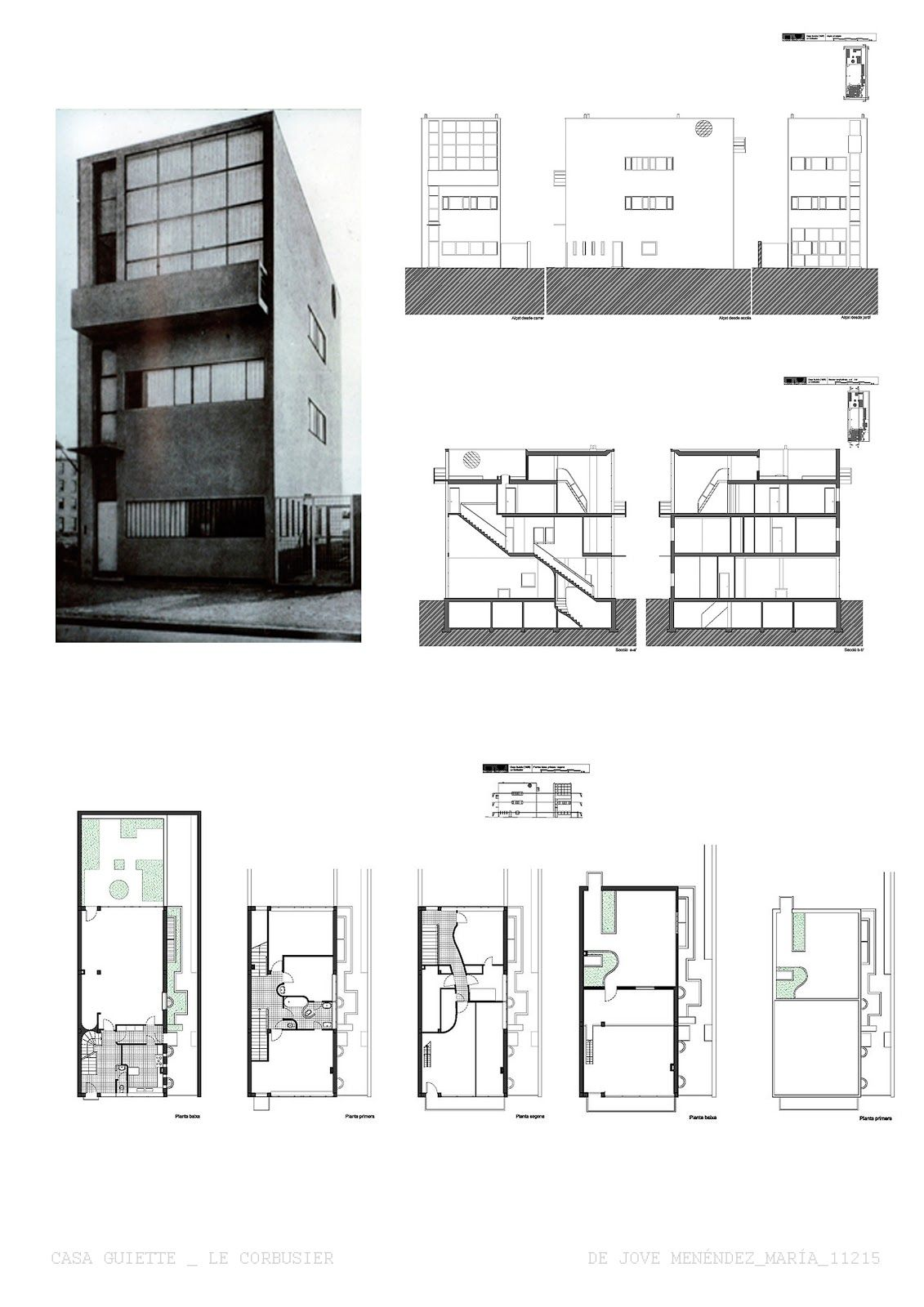 Maison Guiette - Le Corbusier