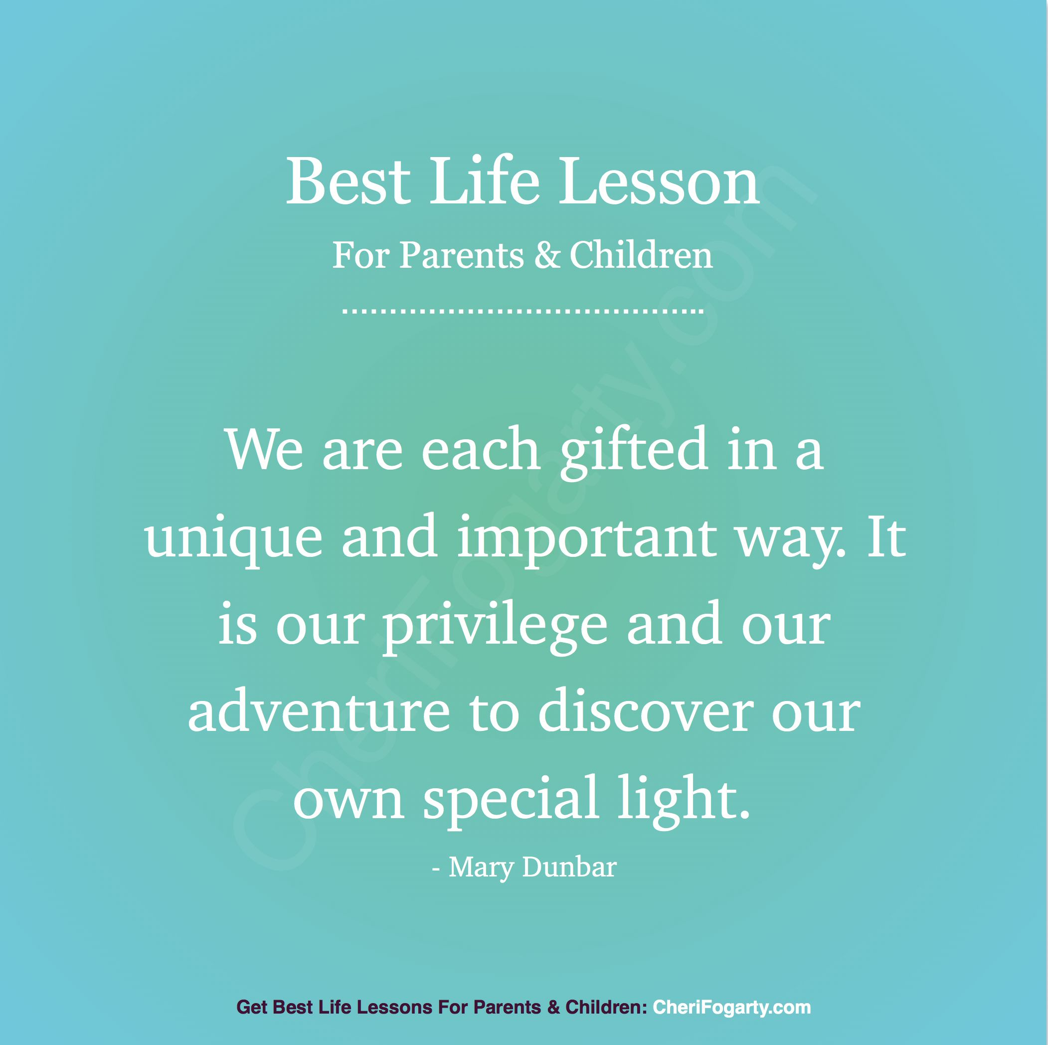 "Life Quotes Kids: Best Life Quote & Lesson For Parents & Children: ""We Are"