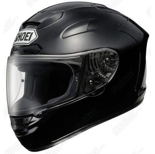 Shoei_Xspirit_2_Black_Motorcycle_Helmet £524.99