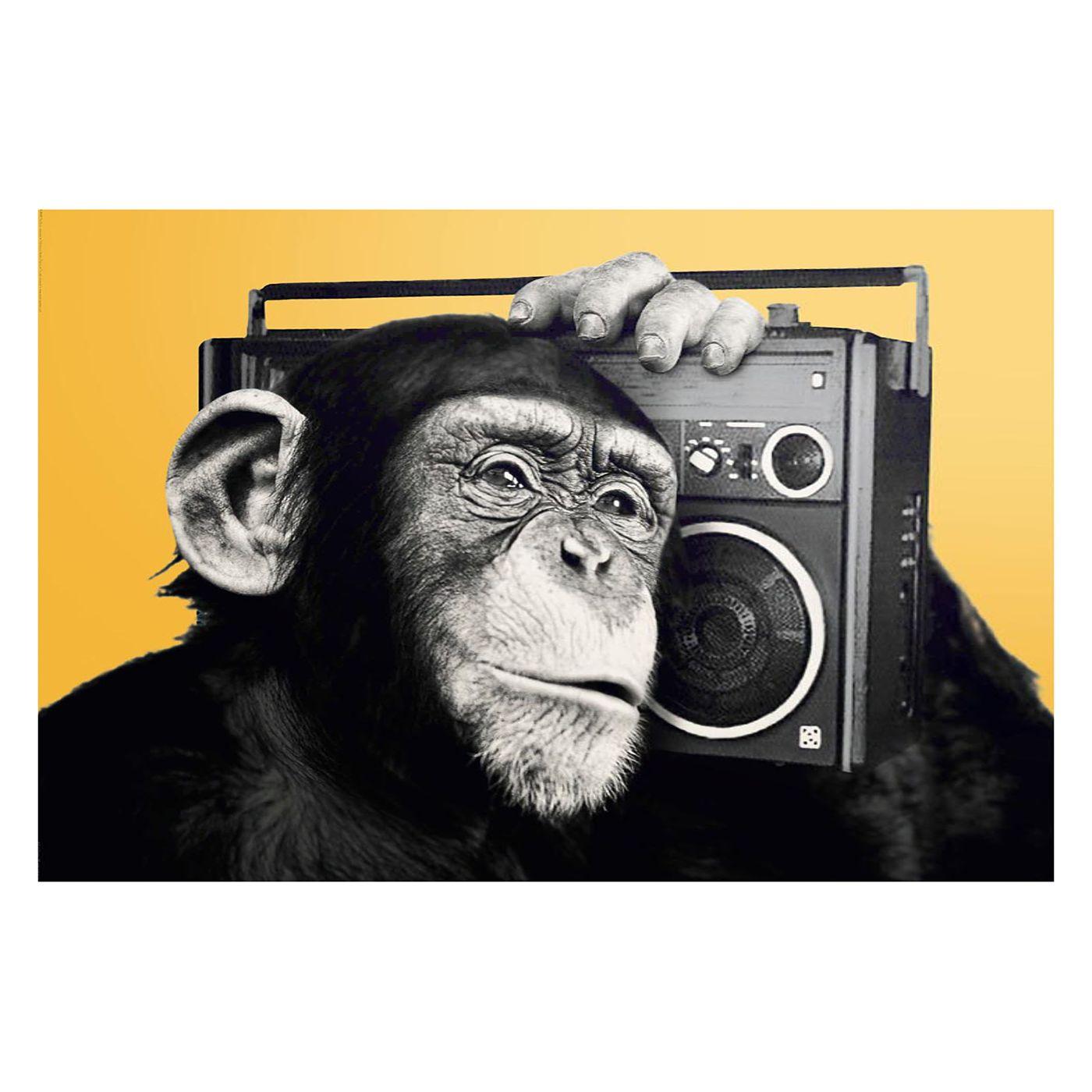 Bild Schimpanse Monkey Ii Kunst Ideen Pop Art Posterdrucke