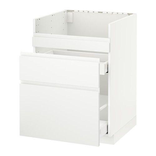 metod maximera base cb f domsj snk frnts drws white with evier ikea domsjo. Black Bedroom Furniture Sets. Home Design Ideas