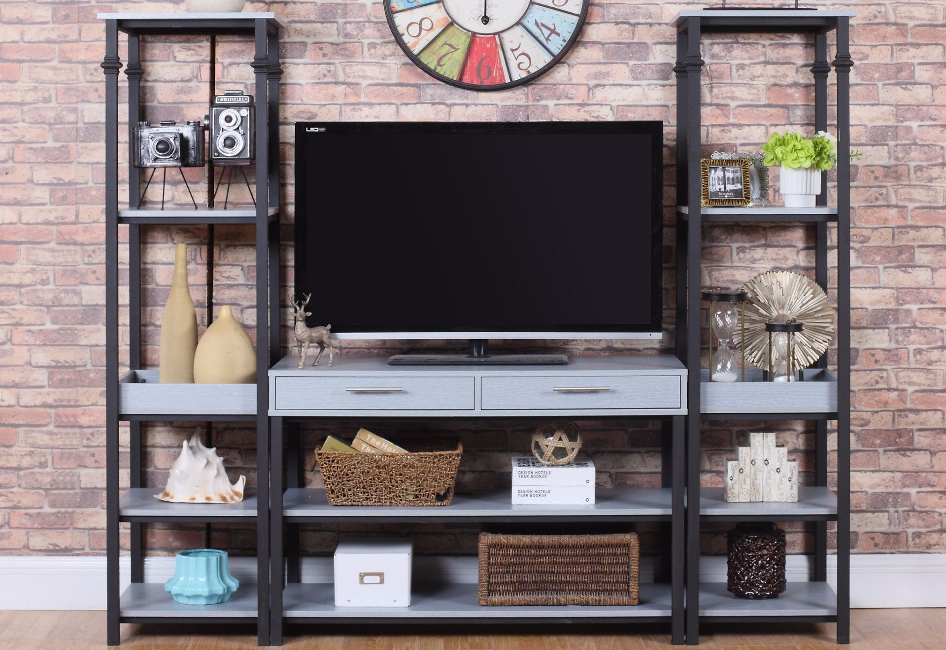 Tele Modern Entertainment Center Products Pinterest