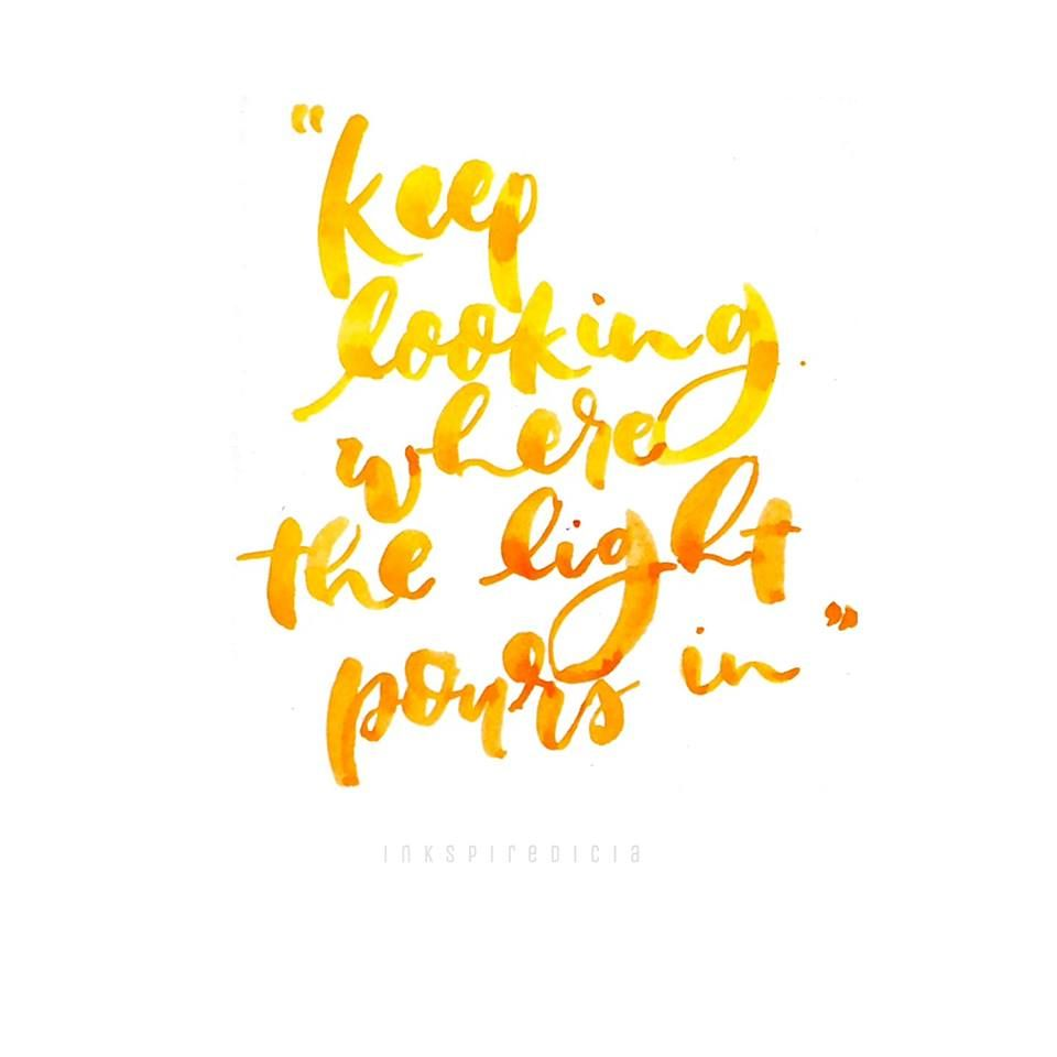 watercolor calligraphy quote inspiring positive in 2019