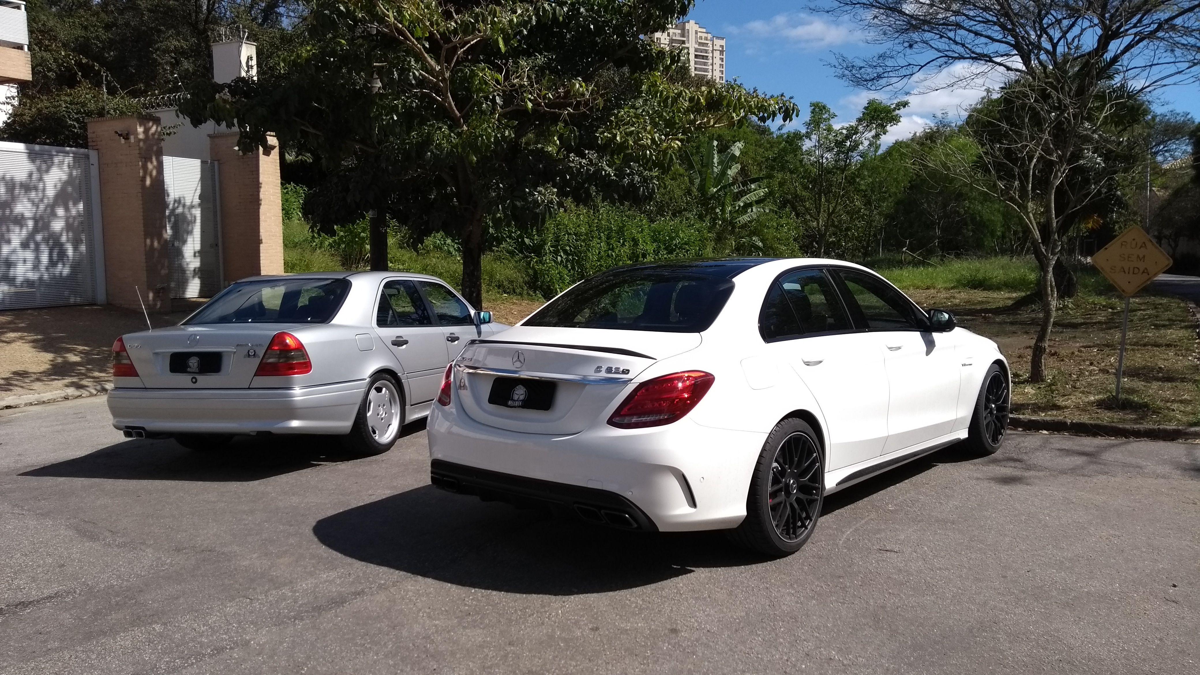 Mercedes Benz C36 AMG e Mercedes AMG C63 S