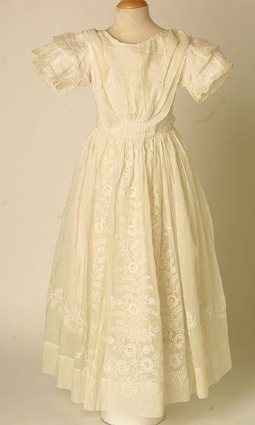 Dress ca. 1850-1860 via Manchester City Galleries