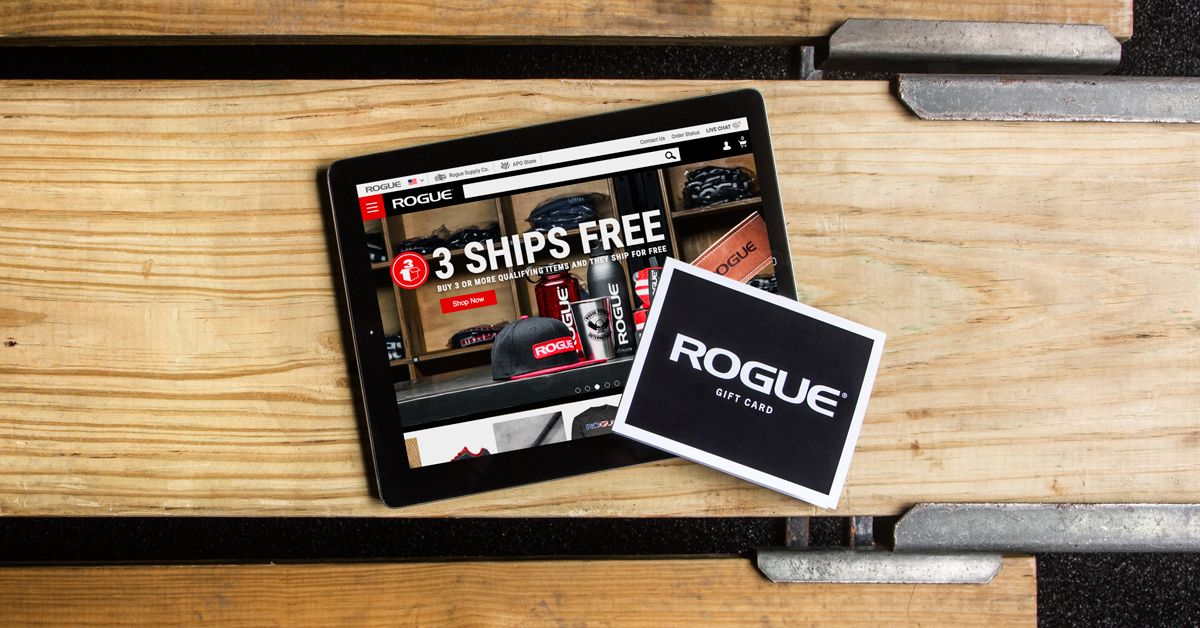 Rogue 39 S Gift Certificates Are Easy To Order And Make The Perfect Gift For Cross Training Enthusiasts Visit Gift Certificate Template Egift Card Gift Card
