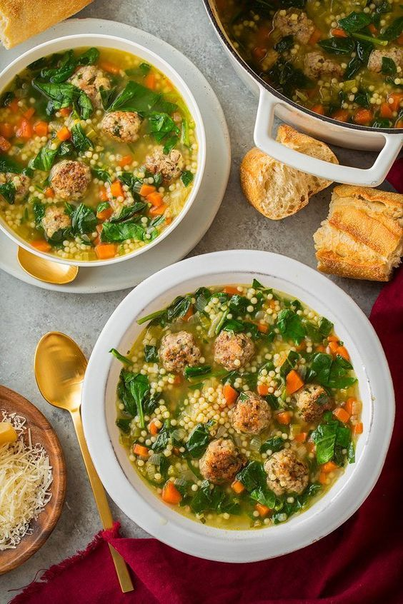 ITALIAN WEDDING SOUP | Italian wedding soup, Italian