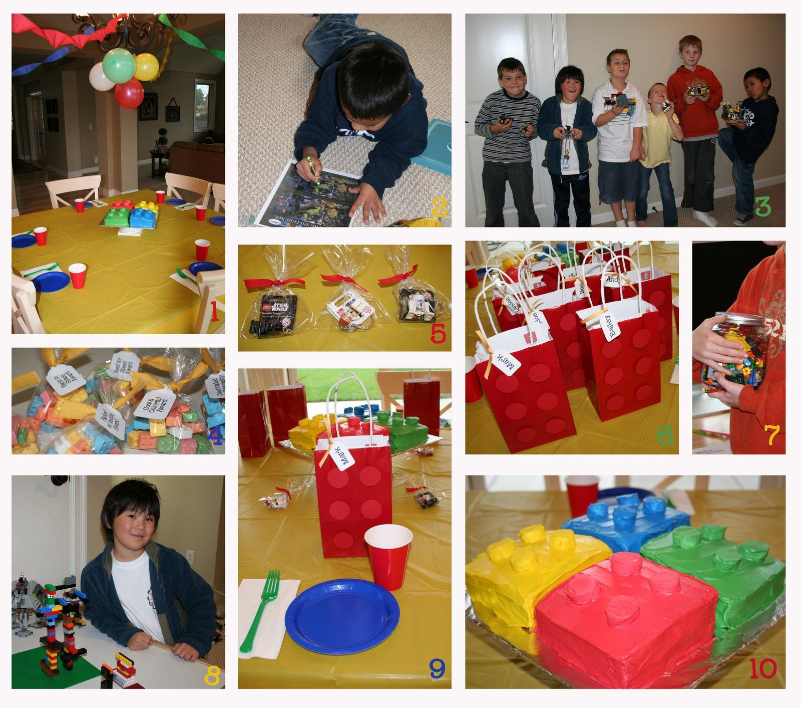 Creative Holiday Gift Ideas: Lego Party Ideas