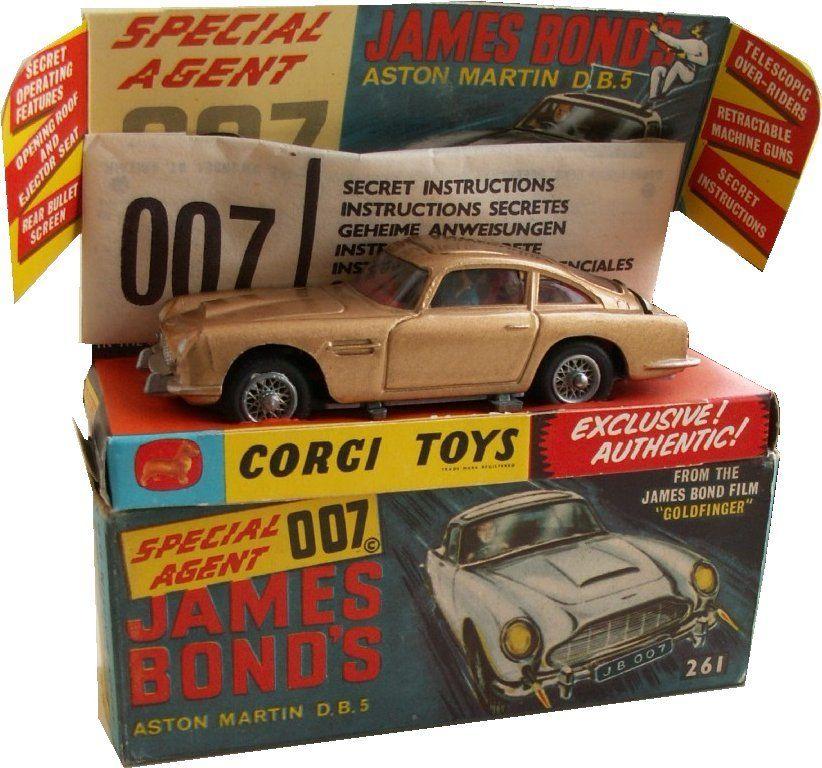 Corgi Toys 268 James Bond DB5 Aston Martin First Issue