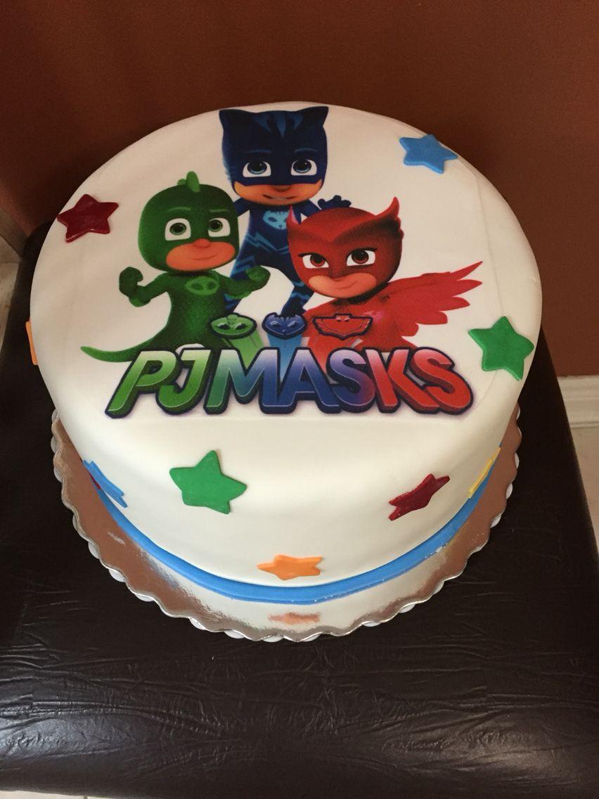 Pj Masks Cake With Images Pj Masks Cake Pj Masks Birthday