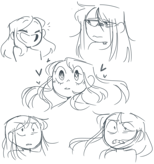 2 Expression Tutorial Tumblr Cartoon Art Styles Art Reference Sketches