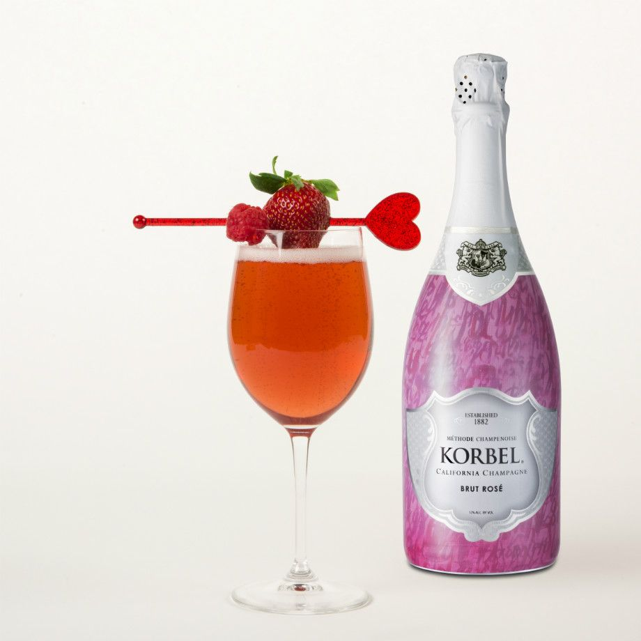 February Calls For Something Extra Sweet And The Official Champagne Of Valentine S Day Has You Covered Whether Toasting Korbel Korbel Brut Korbel Champagne