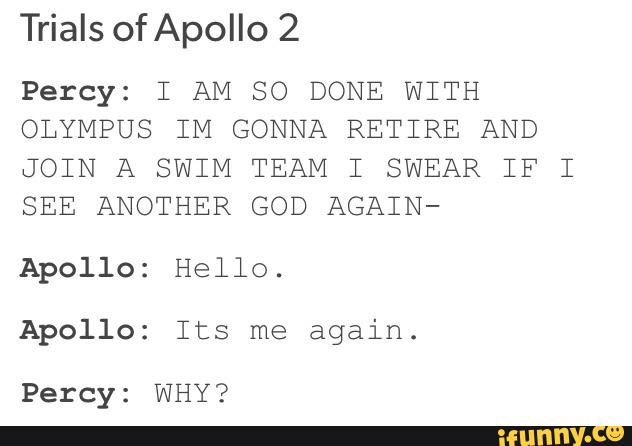 The plot of Trial of Apollo 2- Seriously so ok with this as long as Percy is in the book
