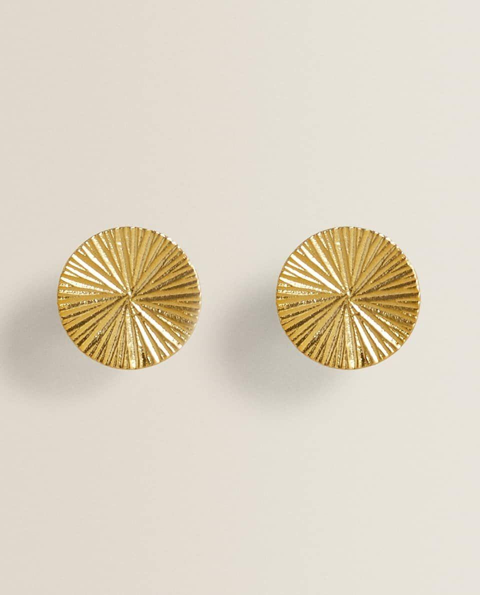 Runder Goldfarbener Knauf Doppelpack In 2020 Zara Home Zara