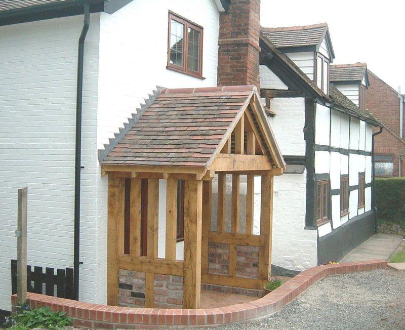 Door porch canopy google search garden pinterest for Cottage extension designs