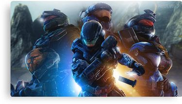 Halo Reach Canvas Print   Products   Halo, Halo game, Halo