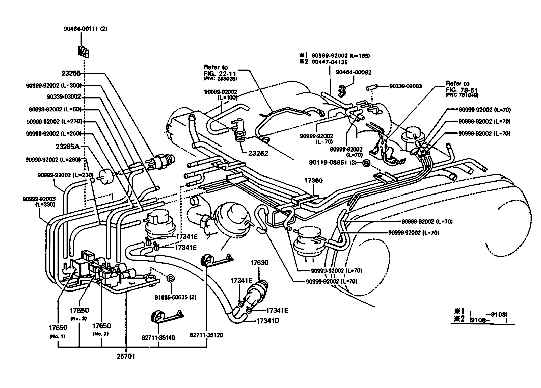 Vacuum Diagram Toyota 4runner 1