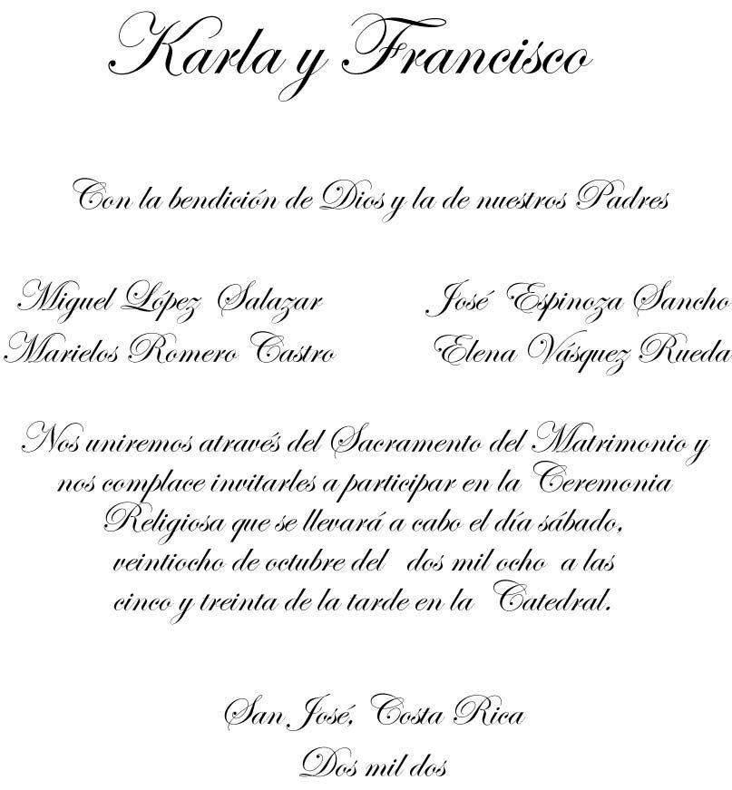 Formato Invitacion Boda En Publisher Decoraci 243 N De