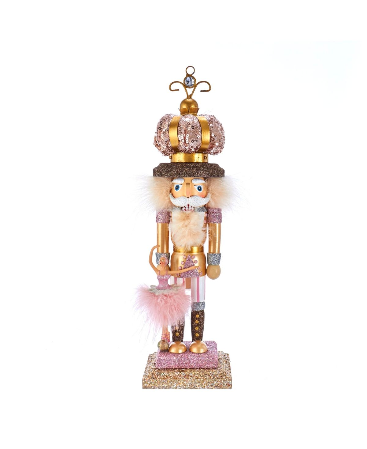 Designed by renowned artist Holly Adler, Hollywood Nutcrackers are created exclusively for Kurt Adler. This 14