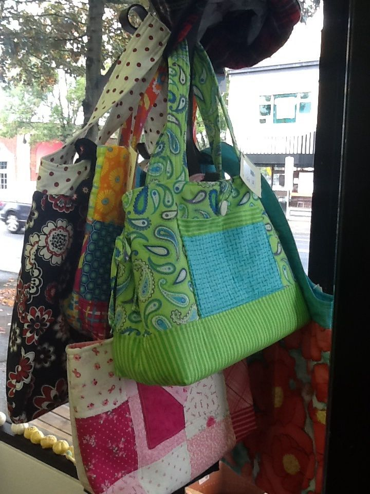 Sunflower Quilting. Quilted bags. Hand made. Local Portland. Shop local. Artistic Portland.