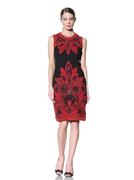 Naeem Khan Women S Sleeveless Embroidered Dress At Myhabit