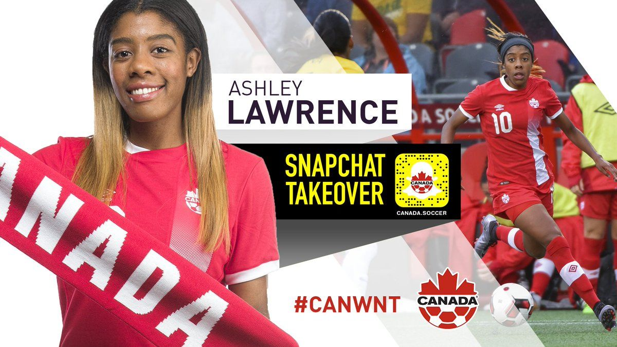 Ashley Lawrence 10, CanWNT Ashley lawrence, Canada